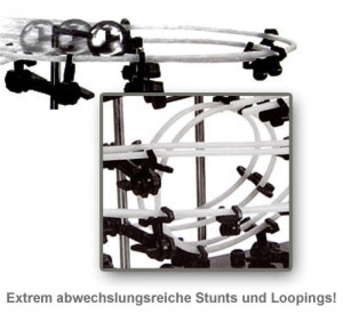 Kugelbahn mit Looping