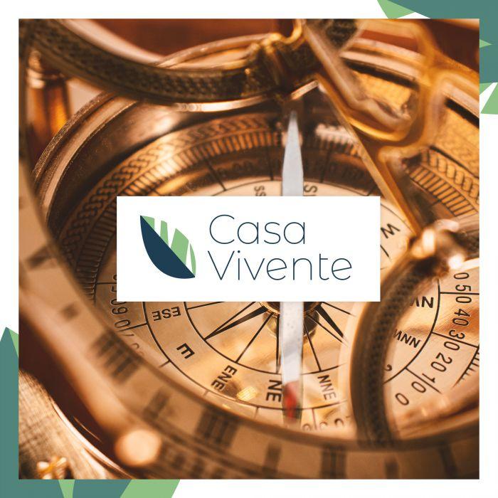 Taschen-Sonnenuhr mit Kompass