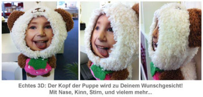 3D Foto-Puppen