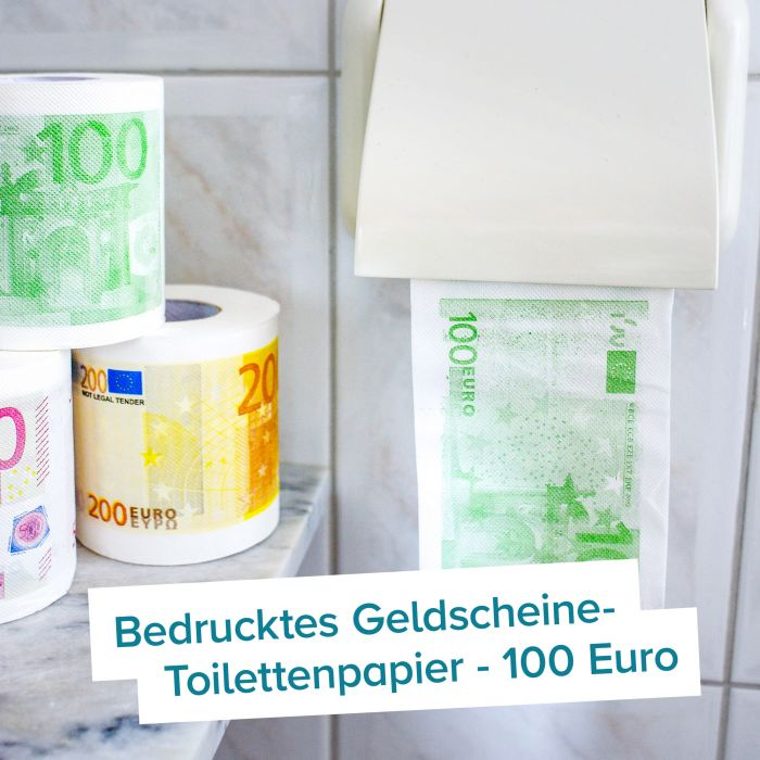Geld Toilettenpapier - 100 Euro Schein