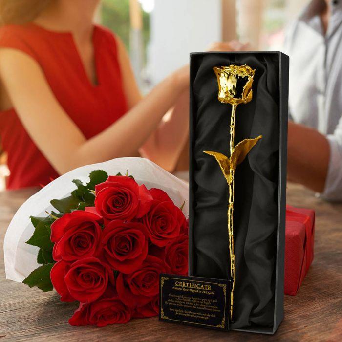 Rose aus Gold