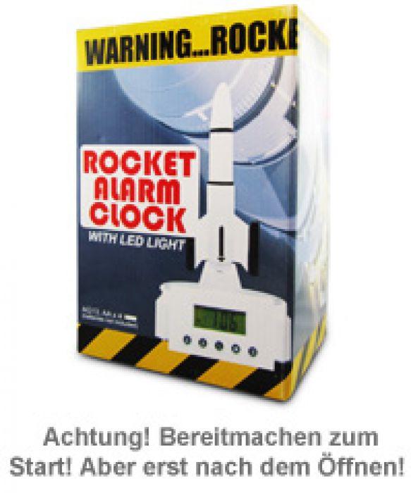 Wecker mit Rakete