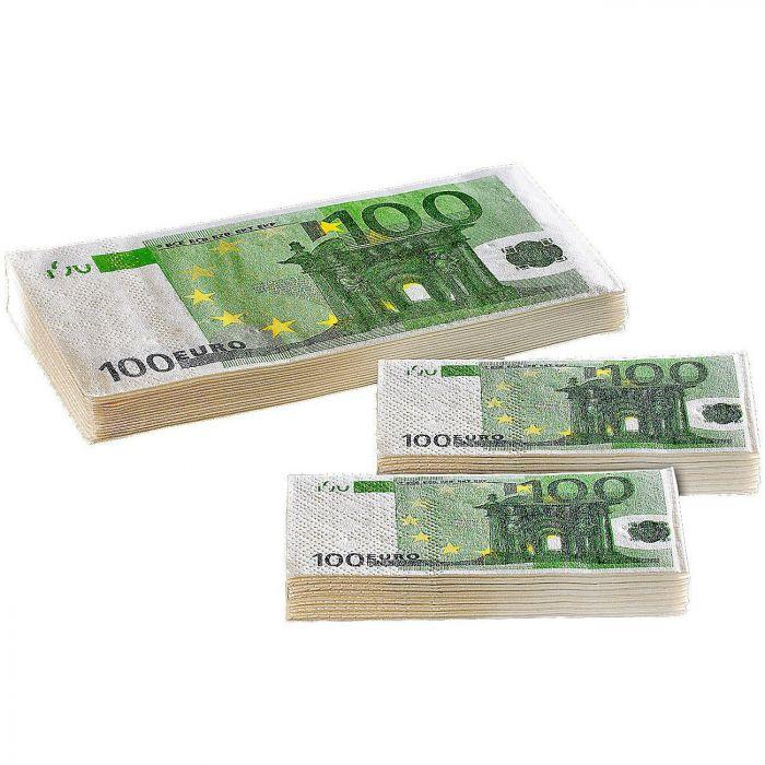 Geld Taschentücher - 100 Euro Scheine