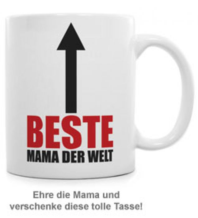 Tasse - Beste Mama auf der Welt
