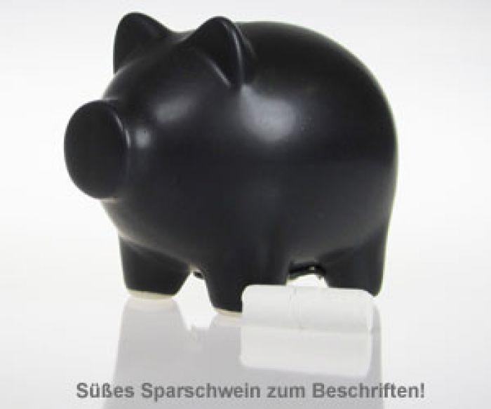 Sparschwein mit Kreide