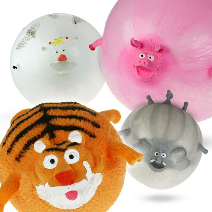 Ballons gonflables animaux – Set de 4