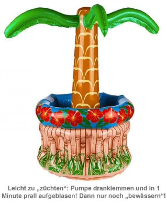 Aufblasbare Palme - Getränkekühler