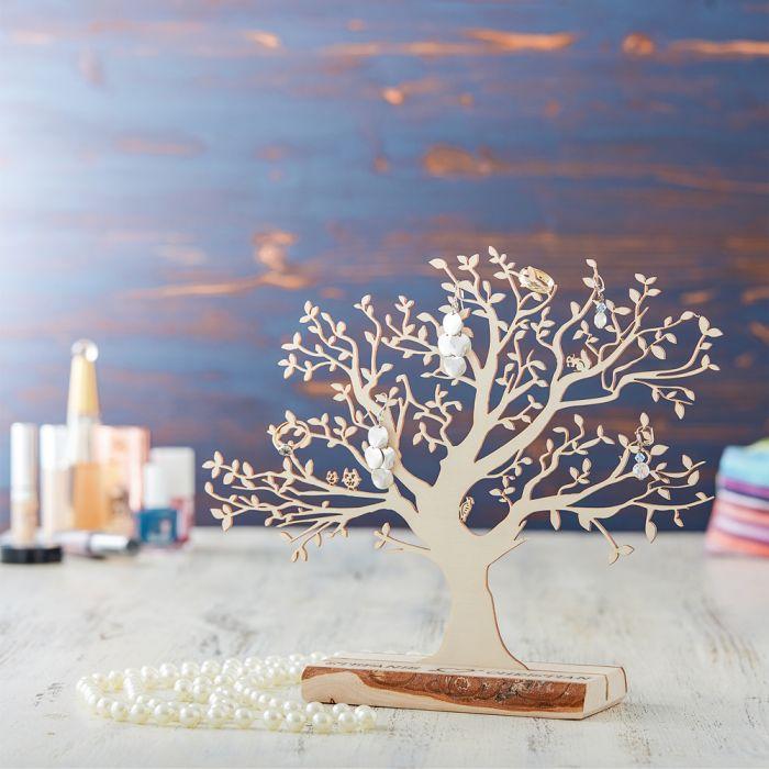 Baum mit Sockel graviert - zur Hochzeit (klein)