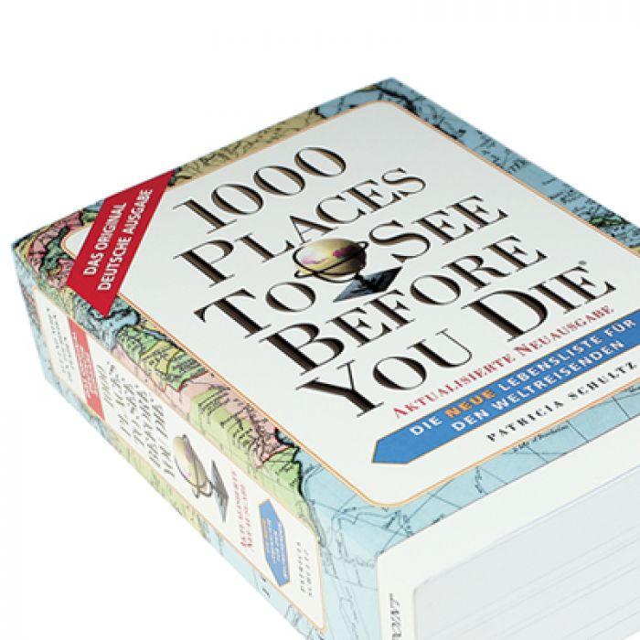 Buch - 1000 Orte, die man gesehen haben muss