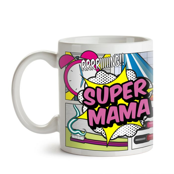 Comic Tasse - Super Mama