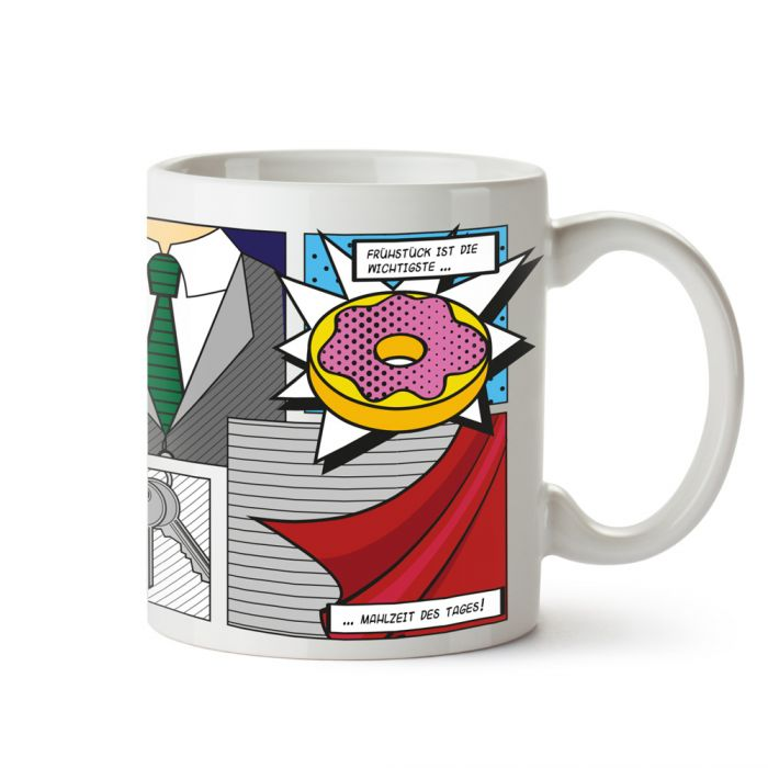 Comic Tasse - Super Papa