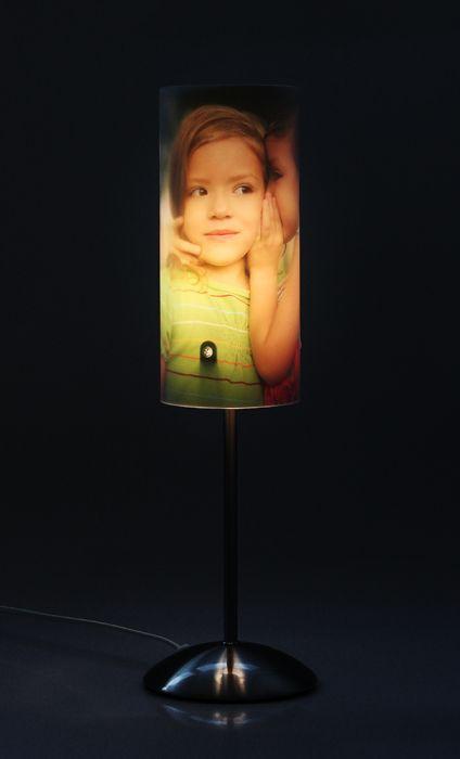 Lampe photo personnaliséé