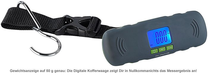 Digitale Kofferwaage