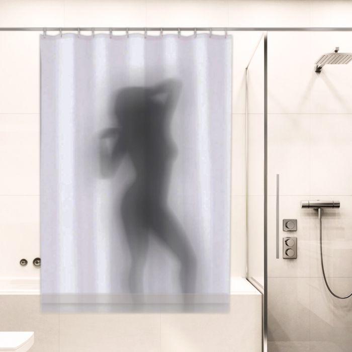 Duschvorhang - Frauenkörper