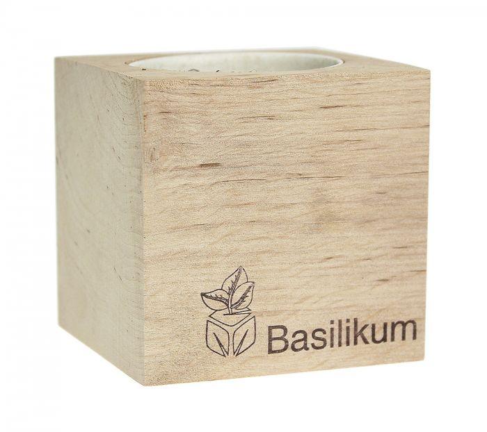 Cube éco basilic