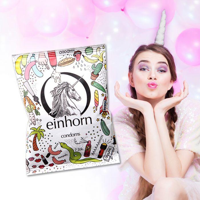 Einhorn Kondome - 7er Pack