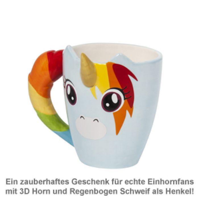 Einhorn Tasse - 3D