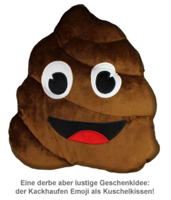 Emoji Kissen - Kackhaufen