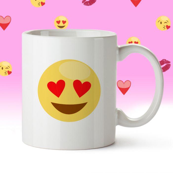 Emoji Tasse - Liebe