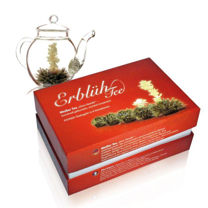 Erblühtee 6er Box - Weißer Tee