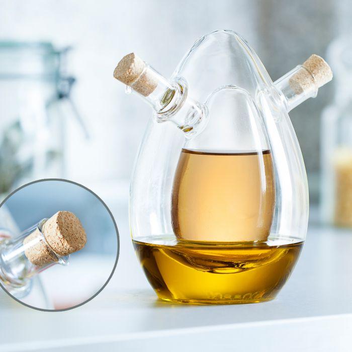 Bouteille à huile et vinaigre