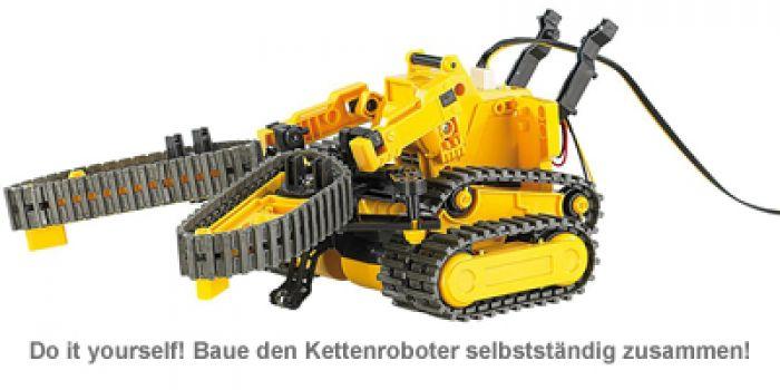 Ferngesteuertes 3in1 Kettenfahrzeug - Roboter Bausatz
