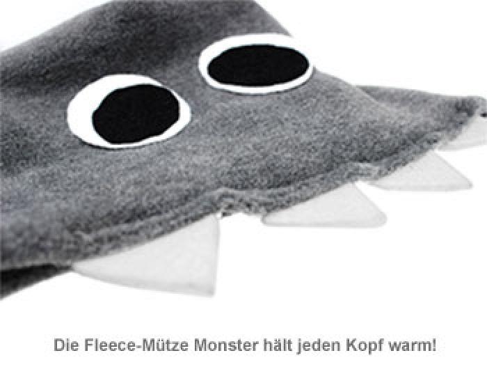 Fleece-Mütze Monster