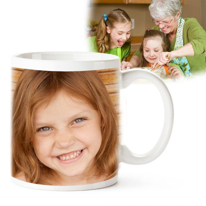 Fototasse Oma - personalisiert
