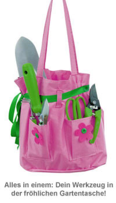 Gartentasche für Frauen - 6-teiliges Gartenset