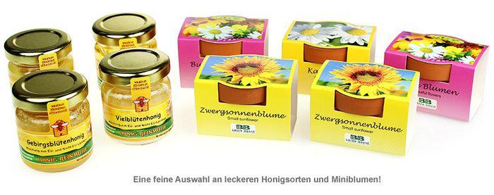 Geschenkset Honigwiese