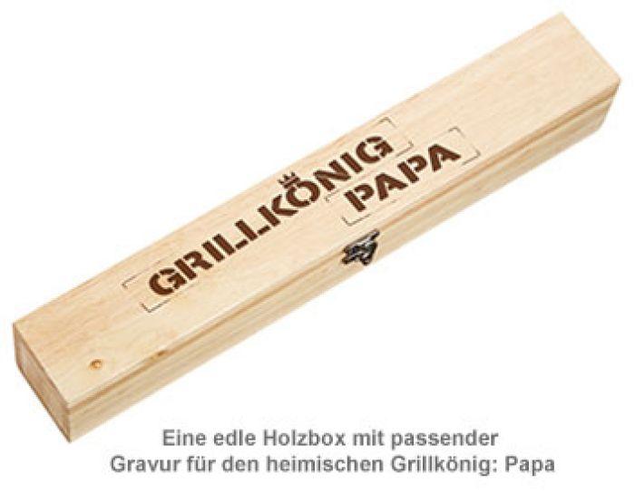Grillbrandeisen - Grillkönig Papa