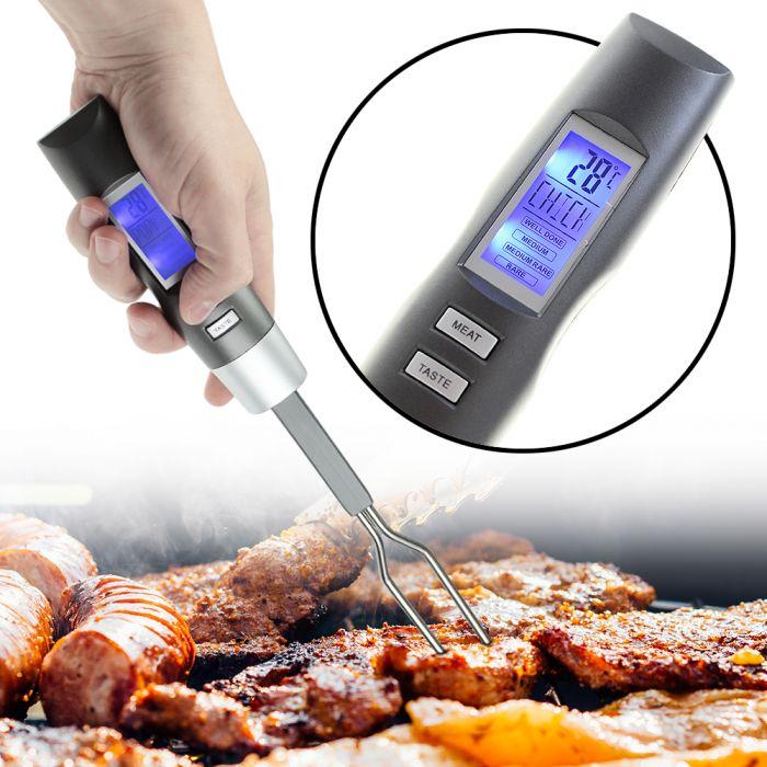 Grillthermometer - Elektronische Grillgabel