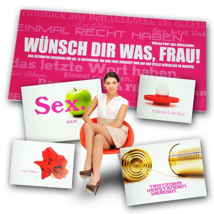 Gutscheinbuch für Frauen - Wünsch Dir was - 12 coole Gutscheine