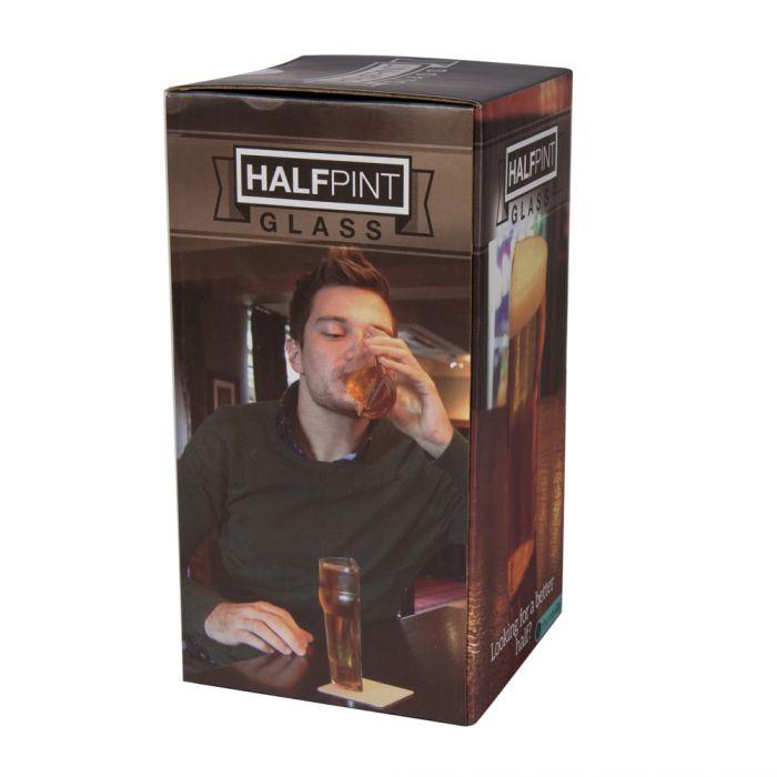Halbes Bier - Half Pint Bierglas