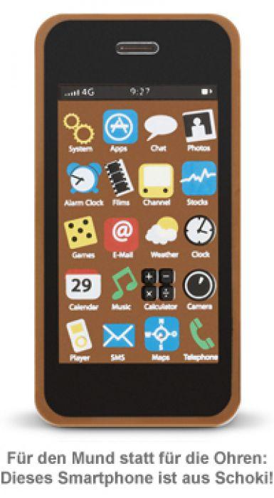 Handy Aus Schokolade Vollmilchschokolade Smartphone Design