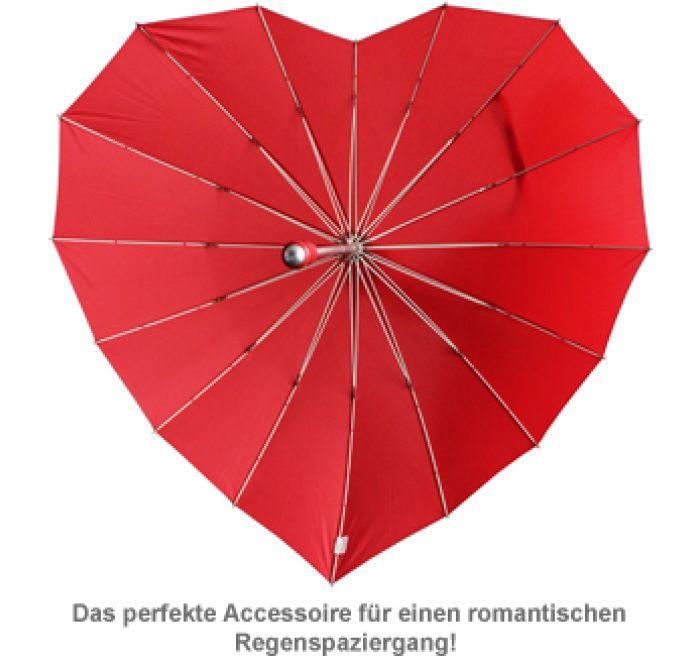Herz Regenschirm für Paare