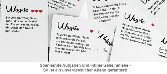 Kartenspiel - Wahrheit oder Wagnis