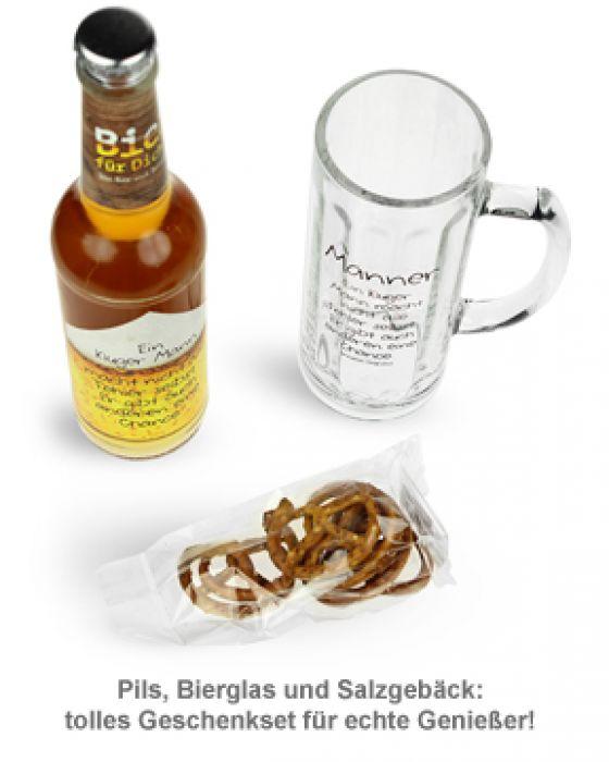 Kleines Brauhaus - Bierset für Männer