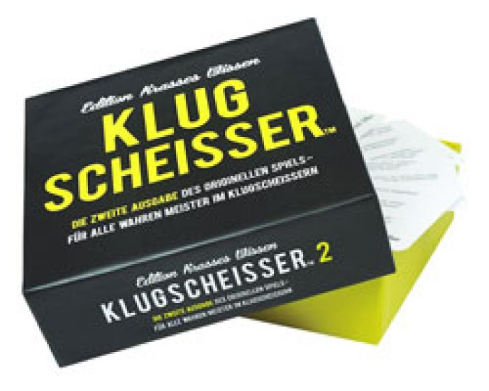 Klugscheisser Spiel - Edition Krasses Wissen