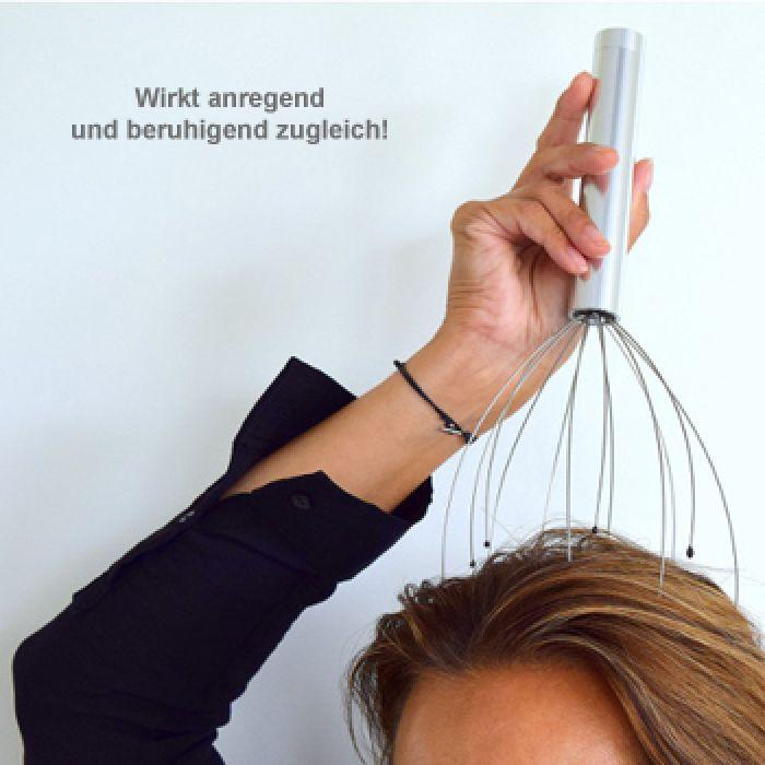Kopfmassagegerät mit Vibration