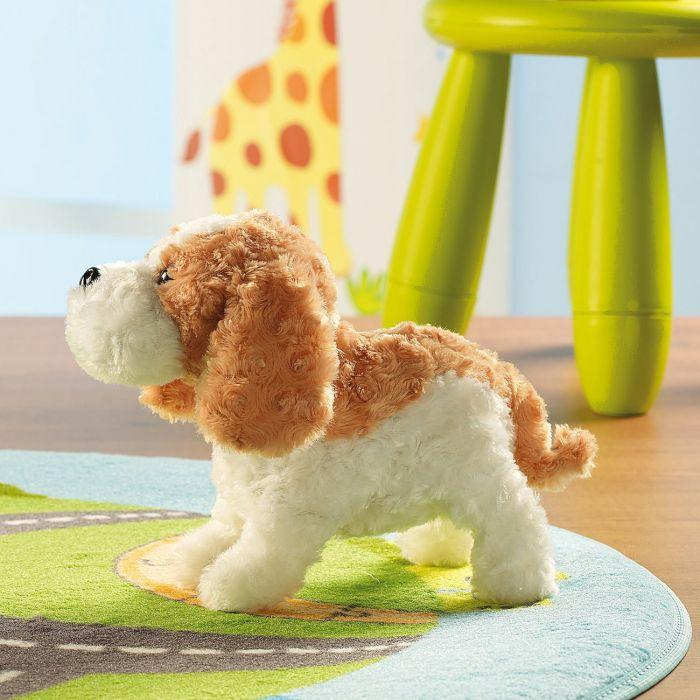 Peluche chien interactive