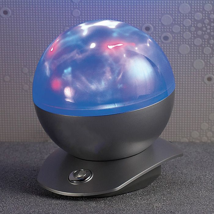 Projecteur laser - Lampe sphérique avec lumière polaire