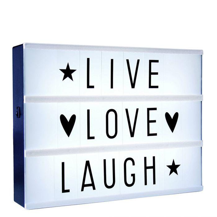 LED Light Box zum Selbstgestalten
