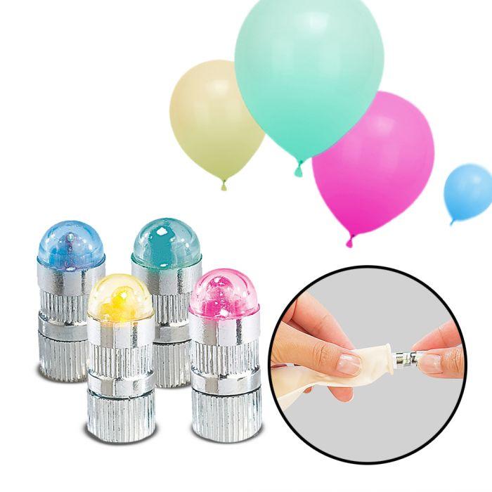 Ballons gonflables LED - colorés