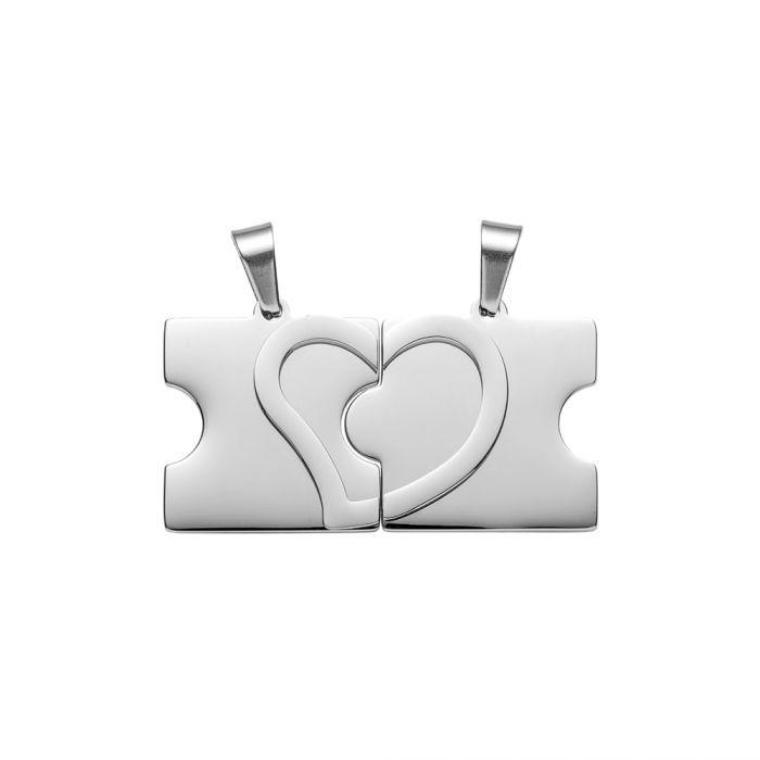 Liebesketten mit Namensgravur - Puzzle Teile