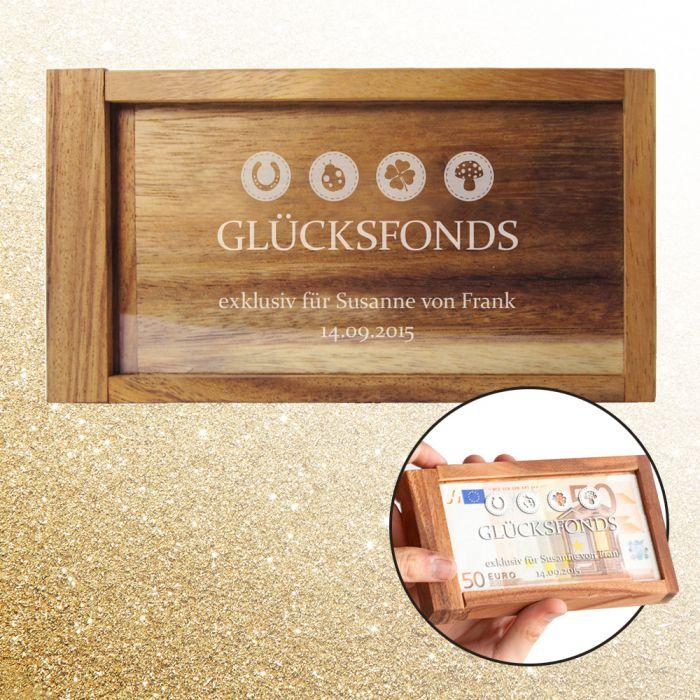 Magische Geldgeschenkbox - Glücksfonds