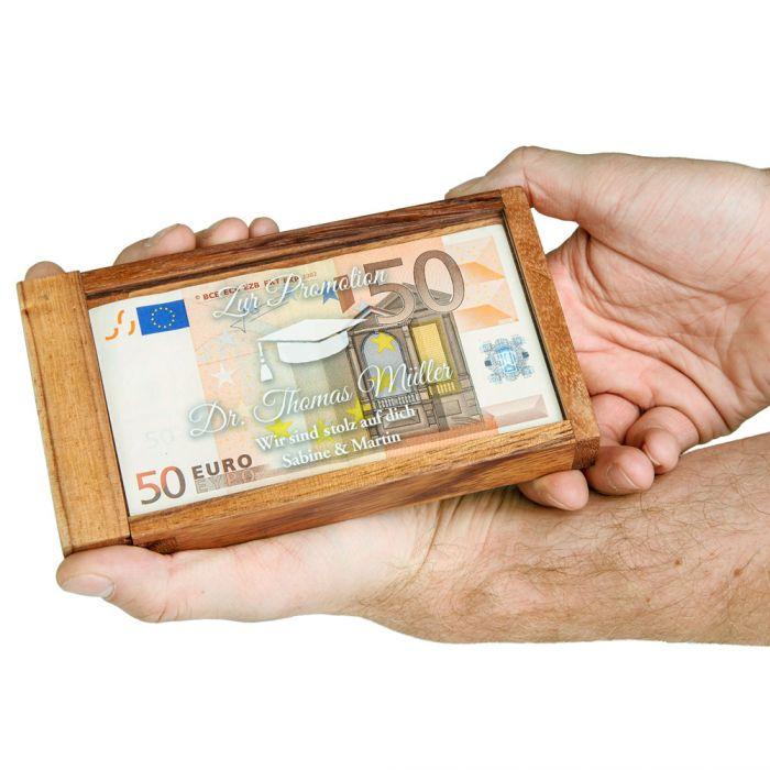 Magische Geldgeschenkbox - Promotion