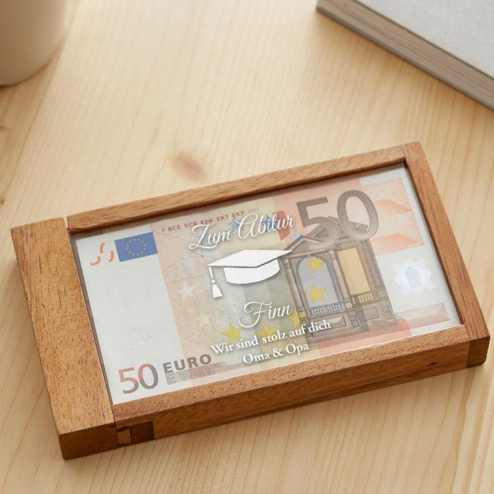 Magische Geldgeschenkbox zum Abitur
