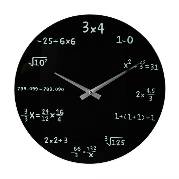 Horloge Maths