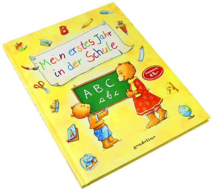 Mein erstes Jahr in der Schule - Buch zum Ausfüllen